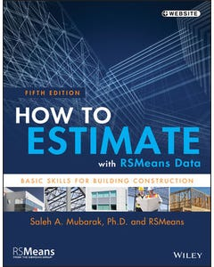 how to estimate with rsmeans data 5th edition
