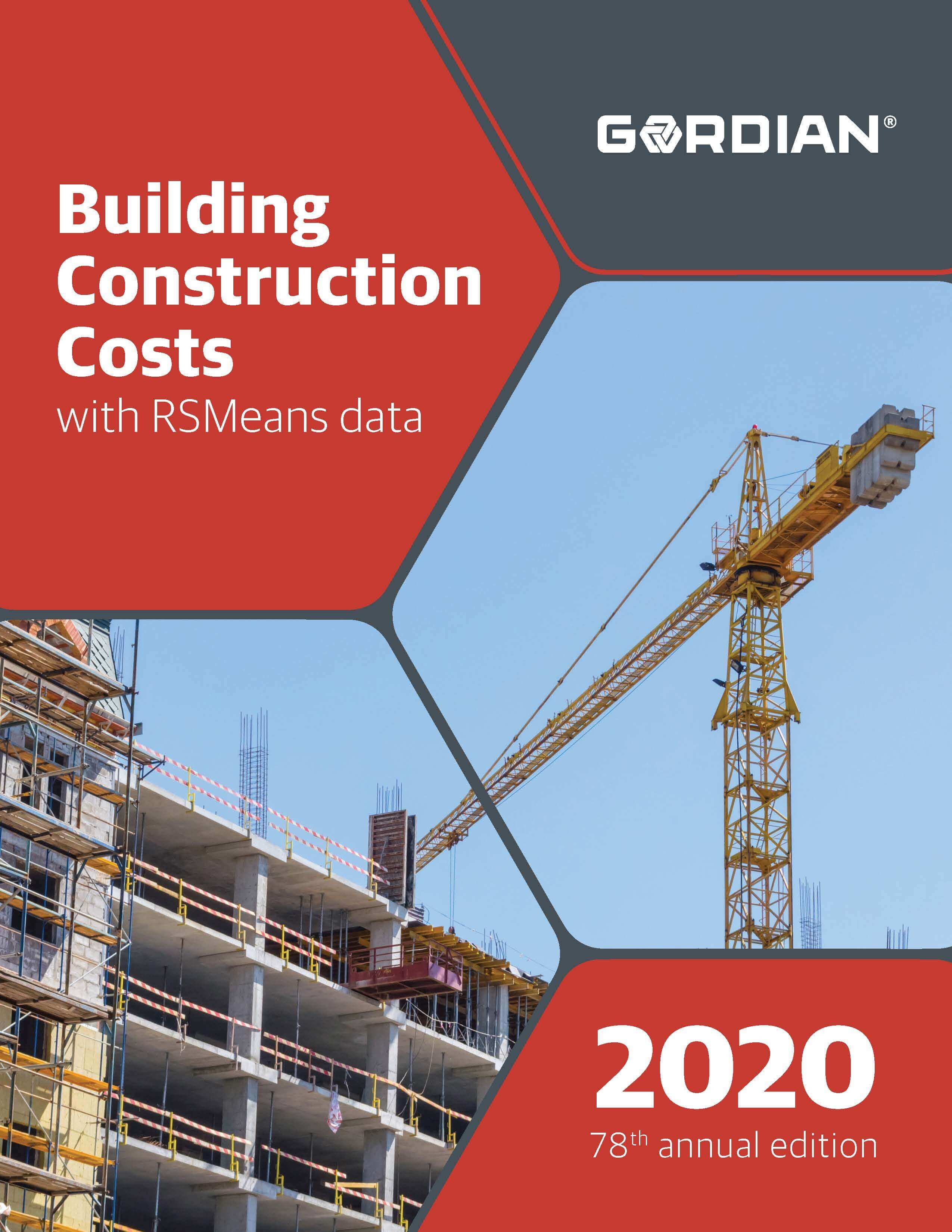 2018 Building Construction Costs Book