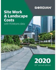 2020 Site Work & Landscape Cost Data eBook