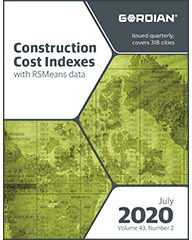 2020 Construction Cost Indexes eBook - July