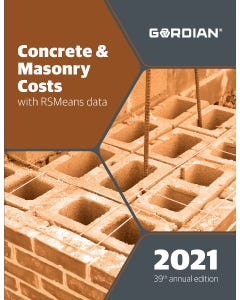 2021 Concrete & Masonry Costs Book