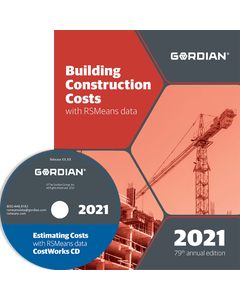 2021 Building Construction Cost Data CD