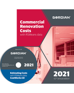 2021 Commercial Renovation Cost Data CD