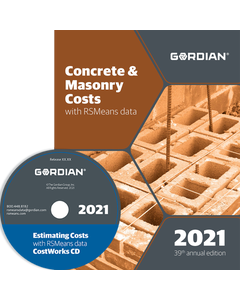 2021 Concrete & Masonry Cost Data CD