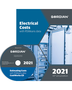 2021 Electrical Cost Data CD