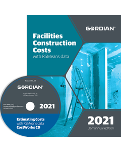 2021 Facilities Construction Cost Data CD
