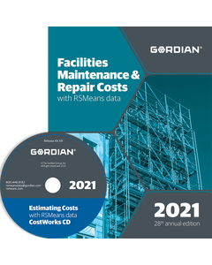 2021 Facilities Maintenance & Repair Cost Data CD