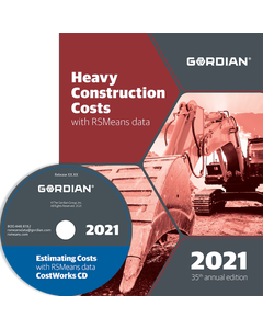 2021 Heavy Construction Cost Data CD