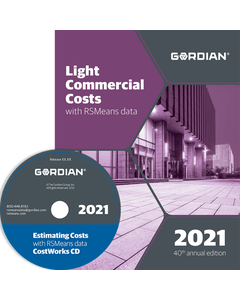 2021 Light Commercial Cost Data CD