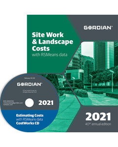 2021 Site Work & Landscape Cost Data CD