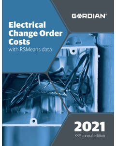 2021 Electrical Change Order Costs Book