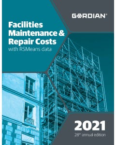 2021 Facilities Maintenance & Repair Costs Book