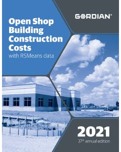 2021 Open Shop Building Construction Costs Book