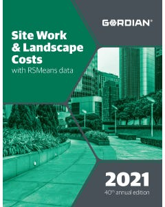 2021 Site Work & Landscape Costs Book