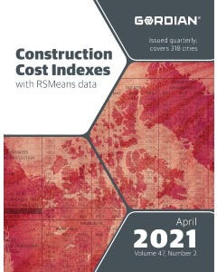 2021 Construction Cost Indexes eBook - April