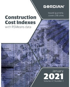 2021 Construction Cost Indexes - January