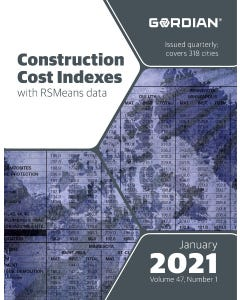 2021 Construction Cost Indexes eBook - January