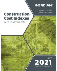 2021 Construction Cost Indexes - July