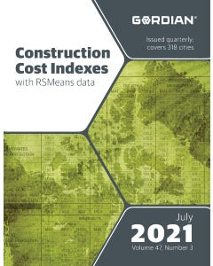2021 Construction Cost Indexes eBook - July