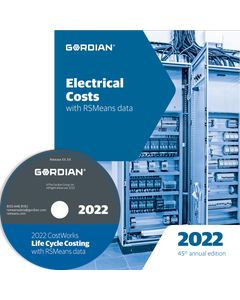 2022 Electrical Cost Data CD