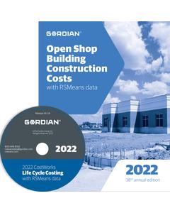 2022 Open Shop Building Construction Cost Data CD