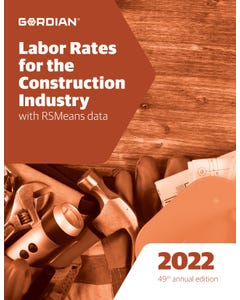 2022 Labor Rates for the Construction Industry Book