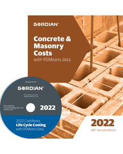 2022 Concrete & Masonry Cost Data CD