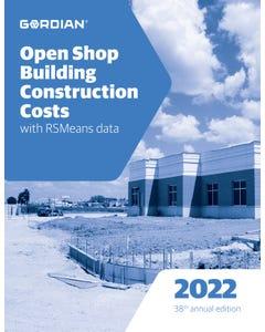 2022 Open Shop Building Construction Costs Book