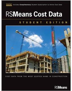RSMeans Cost Data, Student Edition + Online Content