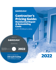 2022 Contractors Pricing Guide: Residential Repair & Remodeling CD