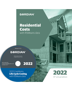 2022 Residential Cost Data CD