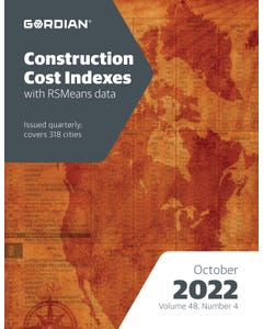 2022 Construction Cost Indexes - October