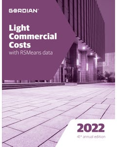 2022 Light Commercial Costs Book
