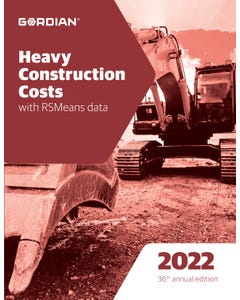 2022 Heavy Construction Costs Book