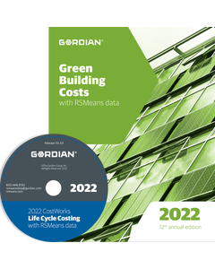 2022 Green Building Cost Data CD