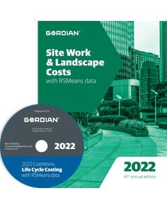 2022 Site Work & Landscape Cost Data CD