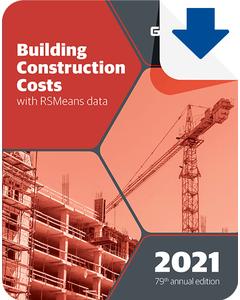 2021 Building Construction Cost Data eBook