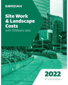 2022 Site Work & Landscape Costs Book
