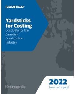 2022 Yardsticks for Costing Book