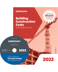2022 Building Construction Cost Data CD