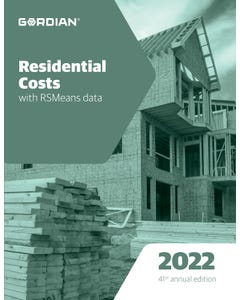 2022 Residential Costs Book
