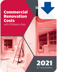2021 Commercial Renovation Cost Data eBook