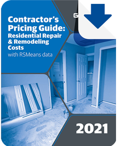 2021 Contractor's Pricing Guide: Residential Repair & Remodeling eBook