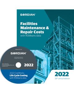 2022 Facilities Maintenance & Repair Cost Data CD