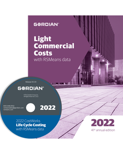 2022 Light Commercial Cost Data CD