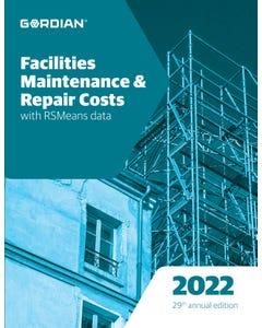 2022 Facilities Maintenance & Repair Costs Book