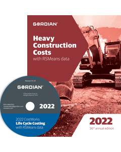 2022 Heavy Construction Cost Data CD