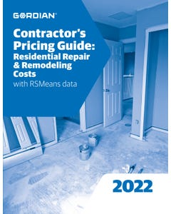 2022 Contractor's Pricing Guide: Residential Repair & Remodeling Costs Book