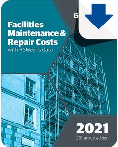 2021 Facilities Maintenance & Repair Cost Data eBook