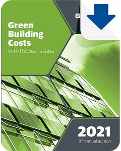 2021 Green Building Cost Data eBook